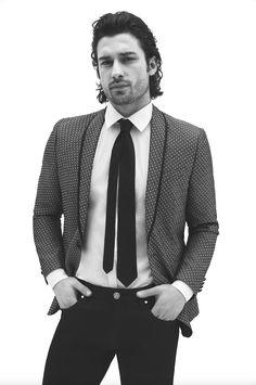 Ji Chang Wook Photoshoot, Vogue Men, Turkish Actors, Hot Boys, Gq, Casual, Suit Jacket, Blazer, Istanbul Turkey