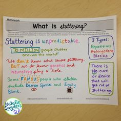 Top Materials for Stuttering Therapy - Natalie Snyders, SLP Speech Language Pathology, Speech Therapy Activities, Speech And Language, Fluency Activities, Middle School Activities, Pediatric Physical Therapy, Learning Websites, Therapy Ideas, Therapy Tools