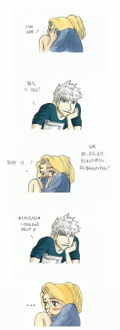 """Thanks but your making me blush;""""3"""