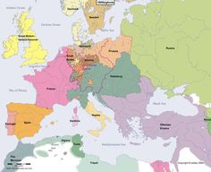 8 Best 1000 Years of Europe images