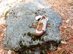 Hiking shoe...last seen relaxing after a long day in Yosemite National Park, USA.