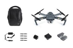 Dji Mavic Pro. This is the fly more bundle, Check out all the different bundles at http://amzn.to/2e9i8T0