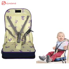 High quality Baby safety portable booster dinner chair oxford waterproof chair fashion seat feeding highchair for baby seat