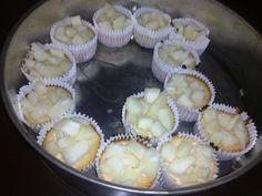 Mini cheesecakes de piña