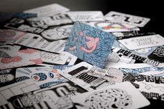 Clement de Bruin – Bittersuite Hand Drawn Business Cards