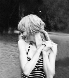 Taylor. She is like a work of art. She is just breathtaking. This photograph reminds me of an important piece of history frozen in time where people will look back on it and have their breath taken away. She's magical -J. Swan