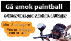 Paintball Århus - ´Gå Amok Paintball´