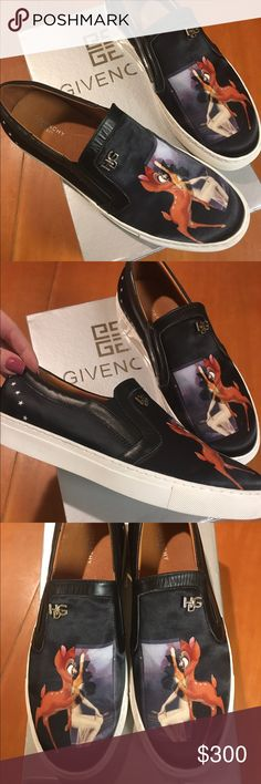 Givenchy Bambi Vans sneakers US 10 Brand new in box Givenchy Shoes Flats & Loafers