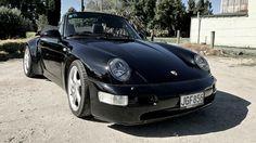 "1990 Porsche Carrera C4 ""Turbo Look"" Cabriolet - CULT Sports Cars"