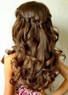 stunning prom hairstyle 2017-2018