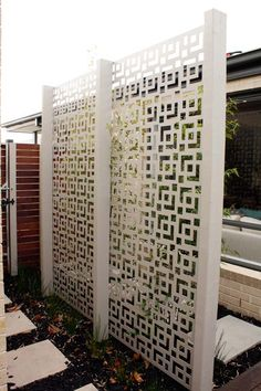 Architectural Screens | Laser Cut Screens | Pierre Le Roux Design