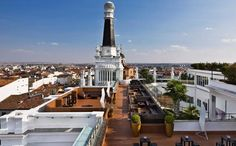 Described as the most exclusive urban retreat in the whole of Madrid, The Roof definitely offers spectacular views of the city. It also has a VIP bar where the most glamorous Spanish celebrities come for drinks and a great party. #madrid #travel #guide #style #fashionista #thingstodoinmadrid #rooftop #bar #cocktail