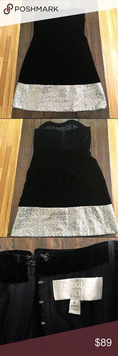 Badgley Mischka strapless dress Gorgeous black strapless Badgley Mischka dress. 82% rayon, 18% silk. combo: 65% acrylic, 27% polyester, 4% nylon. Only wore this dress once. Badgley Mischka Dresses Strapless