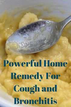 Remedies For Chest Congestion Powerful Home Remedy For Cough and Bronchitis-Just Mix Banana Honey And Water Home Remedies For Bronchitis, Home Remedies For Asthma, Chest Congestion Remedies, Natural Asthma Remedies, Home Remedy For Cough, Natural Cough Remedies, Flu Remedies, Health Remedies, Best Cough Remedy