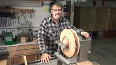 A short video to show how to build a donut chuck for reverse chucking bowls and vessels on a wood lathe.