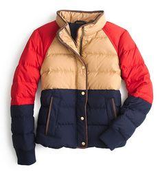 Classic ski jacket.