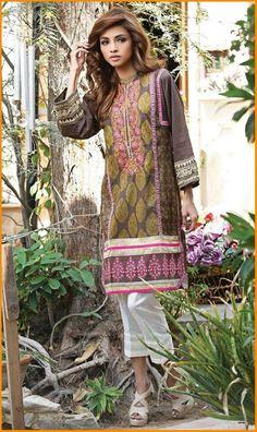 Orient Embroidered Kurti Collection 2016  #Orient #Dresses #KurtiCollection #EmbroideredDresses #PakistaniLawn #PakistaniDresses