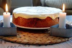 Pullahiiren päiväunia: Mausteinen porkkanakakku Pie Recipes, Winter, Deserts, Food And Drink, Cakes, Winter Time, Cake Makers, Kuchen, Postres