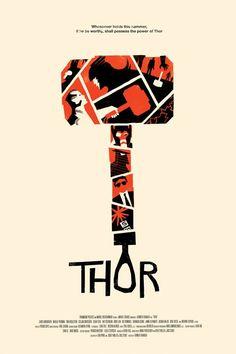 Thor || looks like Saul Bass