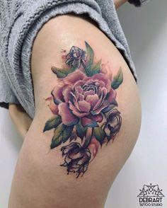 Peony tattoo for the beautiful @roxnattfodd #tattoo#tattoos#peony#peonytattoo#watercolor#halfrealhalfdrawn#watercolortattoo#realism#realistictattoo#flower#lovettt#tattooistartmag#equilattera#tattooselection#tattoo2me#wowtattoo#guestlist#radtattoos#likeforlike#likeforlike#love#flowertattoo#nature#inked#tattooedgirls