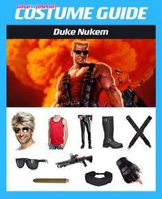 Duke Nukem Forever Cosplay Belt Duke of Doom Costume Props Halloween Party Adult