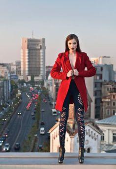 Red coat Coat, Red, Sewing Coat, Peacoats, Coats, Jacket