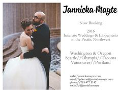 Now booking intimate weddings and elopements in the PNW.   http://jannickamayte.com  #pnw #pacificnorthwest #pnwwedding #pacificnorthwestwedding #pnwelopement #pacificnorthwestelopement