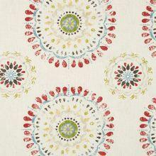 "Robert Allen@Home Fabric 240305 Color Wheel Coral - 100% Cotton - - H: 13.5"", V: 12.75"" 54"" - My Fabric Connection - Robert Allen@Home"
