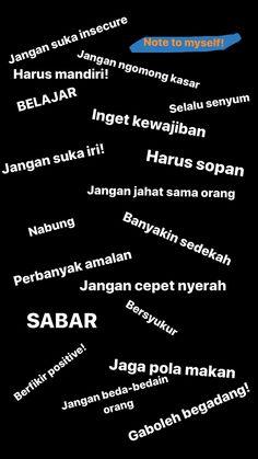 Quotes Rindu, Tumblr Quotes, Self Love Quotes, Reminder Quotes, Self Reminder, Islamic Inspirational Quotes, Islamic Quotes, Korea Quotes, Quotes Galau