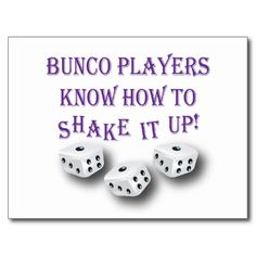 Great Bunco Quote