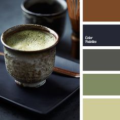 """dusty"" green, ""dusty"" green color, black and cyan colors, brown, color of green tea, color selection, color solution, dark-blue, green, grey, lime green, reddish-brown color, saturated blue color."