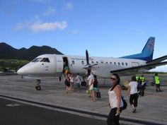 air rarotonga - was so frightened of this flight and it was AMAZING!!!!!