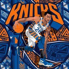 DRose #25 - New York Knicks Basketball Art, Basketball Leagues, Basketball Shirts, Basketball Players, Basketball Outfits, Baseball Caps, Derrick Rose Wallpapers, Nba Wallpapers, Joakim Noah