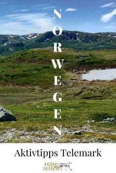 Die Telemark ist wie eine Miniatur-Ausgabe von Norwegen, weil es hier alle typischen Landschaften: Fjorde, Wälder, Flüsse, unzählige Seen und das imposante Hochgebirgsplateau Hardangervidda, was man sich in jedem Fall ansehen sollte.
