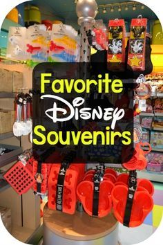Going to Disney and wondering what you should get to bring home? Here is a list of our favorite Disney souvenirs
