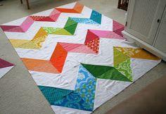 Magpie Quilts: Chevron Quilts