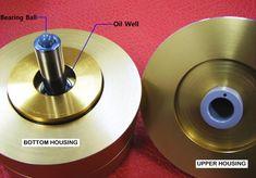 Pyon Sound turntable bearing