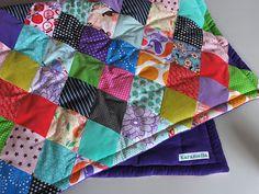 Det skønneste tæppe - tjek det ud på Karamellas blog!