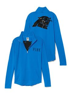 Carolina Panthers Bling Half Zip Pullover PINK  want so bad!!!