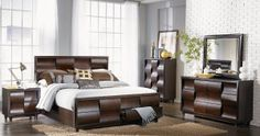 Magnussen Fuqua Platform Storage Bed Set - Bedroom Sets at Hayneedle