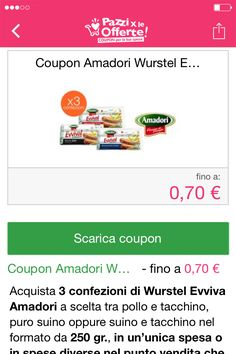 Scarica il coupon #coupon #offerte