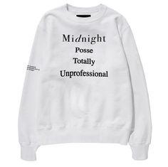 Midnight Studios Posse Crewneck Sweatshirt