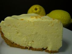 Lemon Bisque - No Bake. This should be topped with whipped cream...like my Gran used to do!
