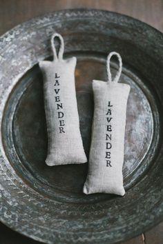Linen lavender bags / Light Grey lavender bags / by LINOHAZE decor grey Lavender Crafts, Lavender Bags, Lavender Sachets, Lavender Flowers, Linen Bag, Linen Fabric, Sewing Crafts, Sewing Projects, Sachet Bags