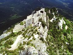 Peyrepertuse – one of Cathar Castles, France