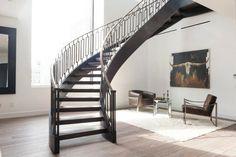 escalier intérieur contemporain et architecture de maison