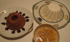 Toetjes: zelfgemaakte pudding