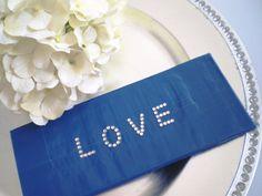 LOVE Duct Tape Wallet BLUE by elegantduck on Etsy,