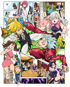 The Seven Deadly Sins: Signs of Holy War Release Date | Anime Lap