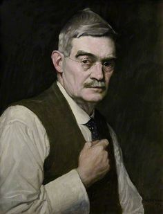 Self Portrait, 1919 by William Strang (1859-1921)